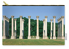 The First Capitol Columns Of The United Carry-all Pouch by Panoramic Images