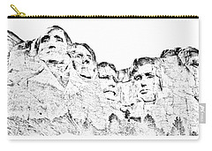 The Four Presidents Carry-all Pouch