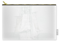 The Ghost Ship Carry-all Pouch by David Patterson