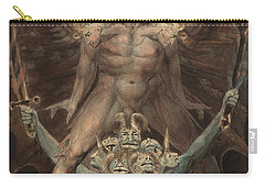 The Great Red Dragon And The Beast From The Sea Carry-all Pouch