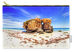 Carry-all Pouch featuring the photograph The Sentry, Two Rocks by Dave Catley