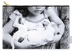 Carry-all Pouch featuring the photograph The Hold by Jez C Self