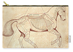 The Horse's Canter Revealed Carry-all Pouch
