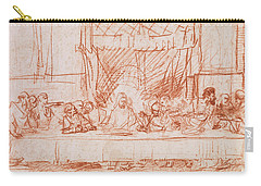The Last Supper, After Leonardo Da Vinci Carry-all Pouch