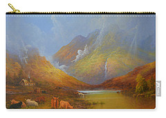 The Little Croft In The Scottish Highlands Carry-all Pouch by Joe Gilronan
