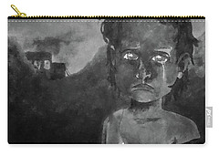 Carry-all Pouch featuring the digital art The Lost Children Of Aleppo by Joseph Hendrix
