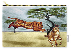 The Lunge Carry-all Pouch by Peter Piatt
