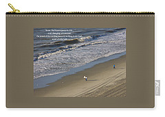 Carry-all Pouch featuring the photograph The Ocean by Rhonda McDougall