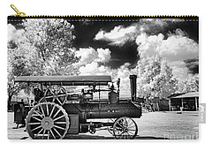 Carry-all Pouch featuring the photograph The Old Way Of Farming by Paul W Faust - Impressions of Light