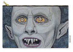 The Politician. Carry-all Pouch by Ken Zabel