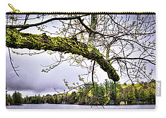 The Pond In Old Forge Carry-all Pouch by David Patterson