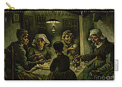 The Potato Eaters, 1885 Carry-all Pouch by Vincent Van Gogh