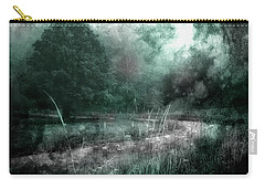 The Road Less Traveled Carry-all Pouch by Mike Eingle