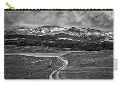 The Road That Leads You Home Carry-all Pouch by Peter Tellone