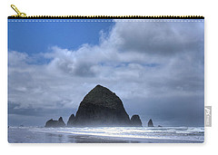 Carry-all Pouch featuring the photograph The Rock by David Patterson