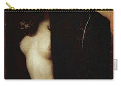 Carry-all Pouch featuring the painting The Sin by Franz von Stuck