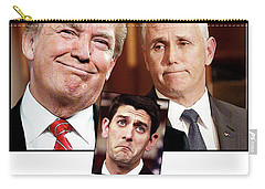 The Three Stooges Carry-all Pouch