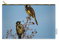 Carry-all Pouch featuring the photograph The Two Of Us by Mark Blauhoefer