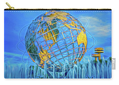 Carry-all Pouch featuring the photograph The Unisphere by Theodore Jones