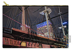 Carry-all Pouch featuring the photograph The Uss Constellation by Mark Dodd