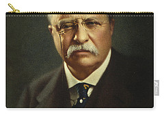 Theodore Roosevelt - President Of The United States Carry-all Pouch