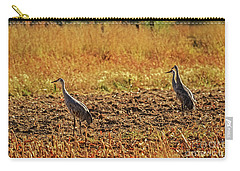 Carry-all Pouch featuring the photograph Three Amigos by Robert Bales