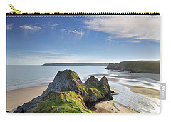 Three Cliffs Bay 5 Carry-all Pouch