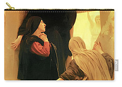 Three Marys At The Tomb Carry-all Pouch
