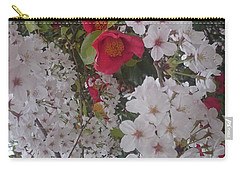 Thubaki Means Camellia Carry-all Pouch