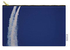 Carry-all Pouch featuring the photograph Thunderbirds Upwards by Raymond Salani III