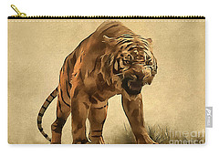 Tiger Carry-all Pouch by Sergey Lukashin