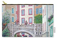Carry-all Pouch featuring the photograph Time ... by Juergen Weiss