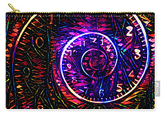 Time Spiral Carry-all Pouch