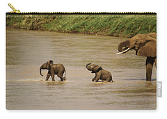 Tiny Elephants Carry-all Pouch