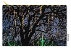 Carry-all Pouch featuring the photograph 'tis The Season by Eduard Moldoveanu