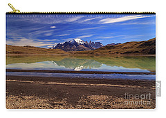 Carry-all Pouch featuring the photograph Torres Del Paine 002 by Bernardo Galmarini