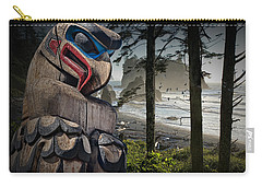Totem Pole In The Pacific Northwest Carry-all Pouch