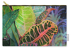Carry-all Pouch featuring the painting Trailblazers by Kris Parins