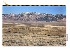 Trailing Cattle Carry-all Pouch