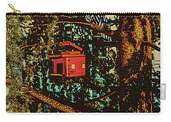 Train Bird House Carry-all Pouch