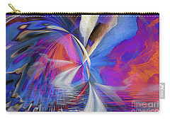 Carry-all Pouch featuring the digital art Transition 2016 by Margie Chapman