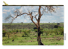 Carry-all Pouch featuring the photograph Tree by Charuhas Images