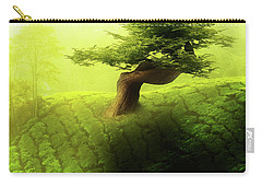 Carry-all Pouch featuring the photograph Tree Of Life by Mo T