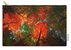 Tree Tops Carry-all Pouch by David Stasiak
