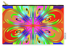 Tribute To Peter Max Carry-all Pouch