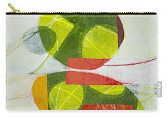 Carry-all Pouch featuring the mixed media Trio by Elena Nosyreva