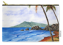 Carry-all Pouch featuring the painting Tropical Dream by Darice Machel McGuire