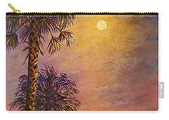 Tropical Moon Carry-all Pouch by Lou Ann Bagnall