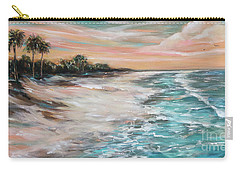 Tropical Shore Carry-all Pouch by Linda Olsen