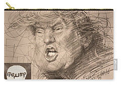Trump Carry-all Pouch by Ylli Haruni